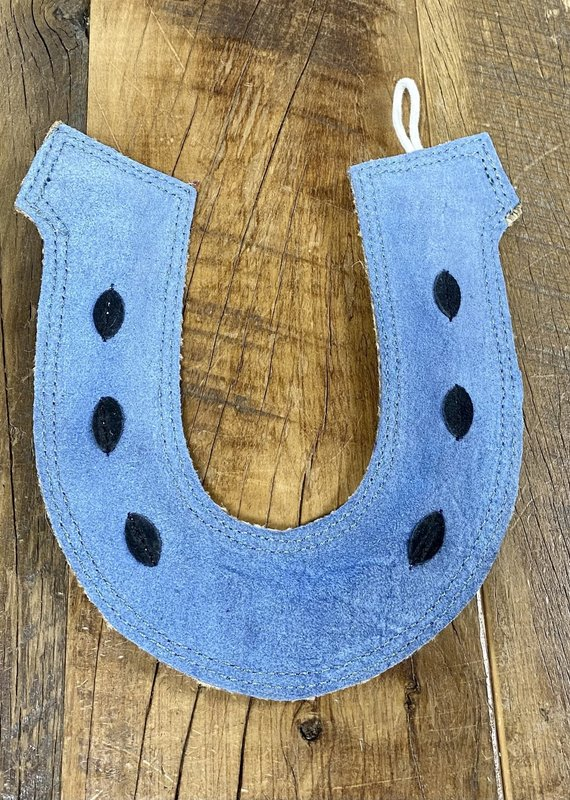Dreamers & Schemers Dreamers & Schemers Horse Shoe Dog Toy Blue