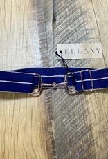 "Ellany Equestrian Ellany Kaylie 1.5"" Rose Gold Snaffle Elastic Belt"