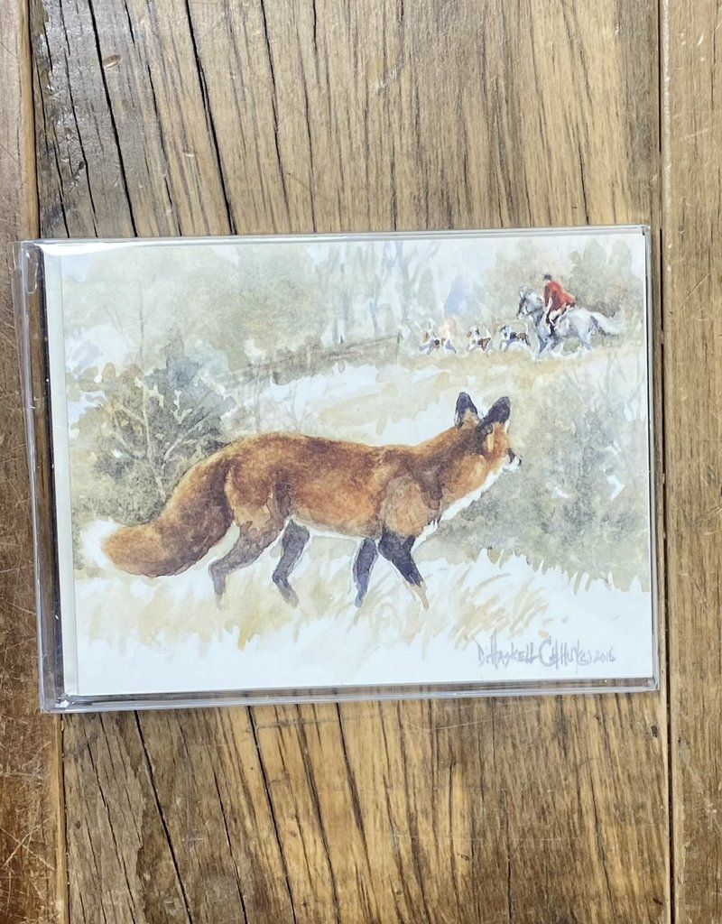 D. Haskell Chhuy D. Haskell Chhuy Colored Fox Cards 8ct.
