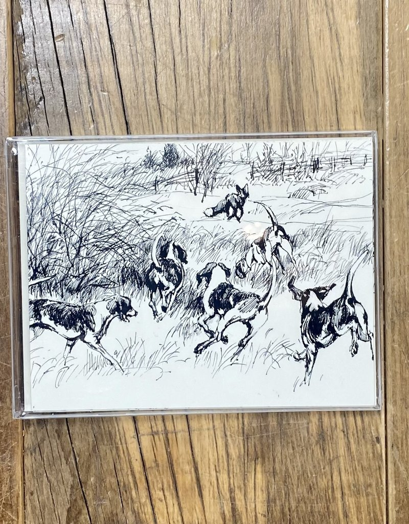 D. Haskell Chhuy D. Haskell Chhuy Panoramic B & W Hunt Cards 8ct.