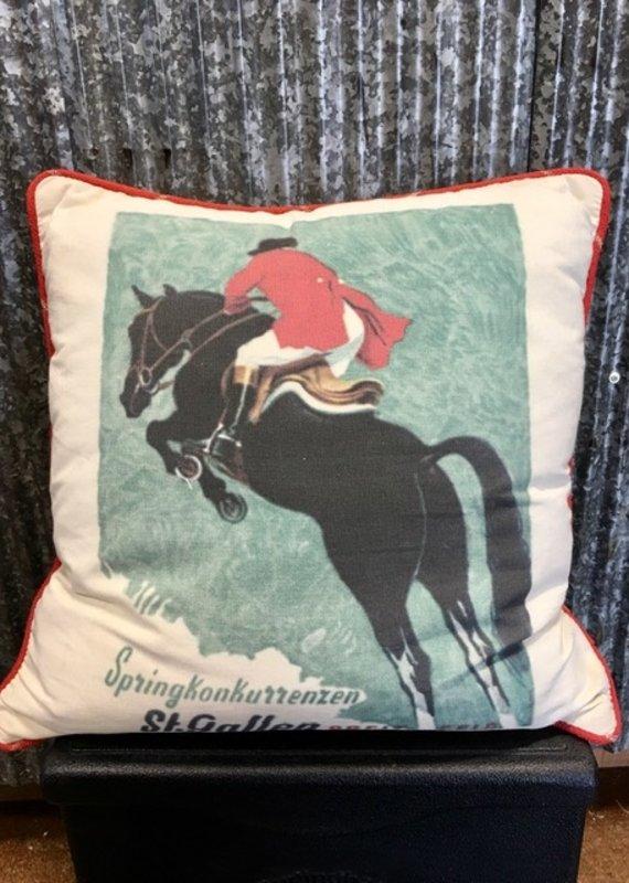 Horse & Hound Horse & Hound Foxhunt Pillow