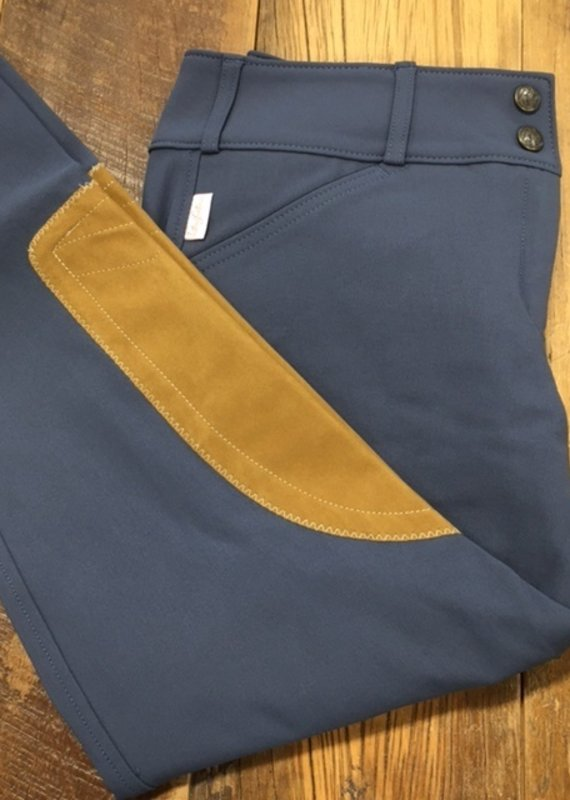 The Tailored Sportsman The Tailored Sportsman Women's Trophy Hunter Mid Rise Breech French Blue