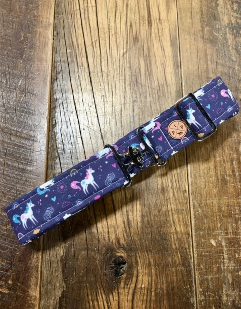 The Posh Pony Midnight Unicorn Cloth Belt