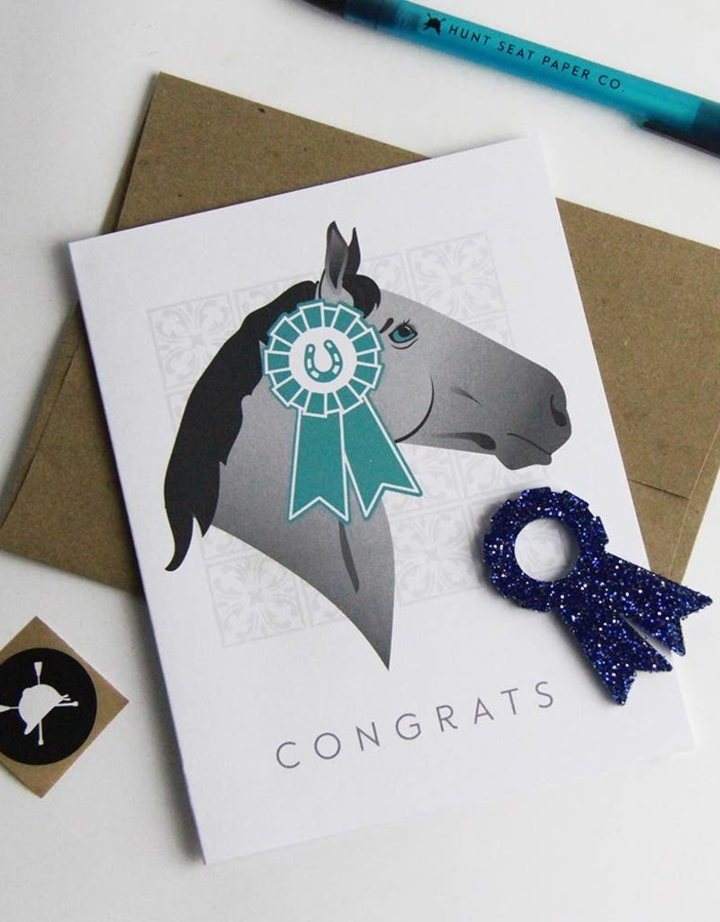 Hunt Seat Paper Co. Congrats Greeting Card