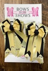Bows To The Shows Bows to the Shows Hair Bows  Shadbelly Gold