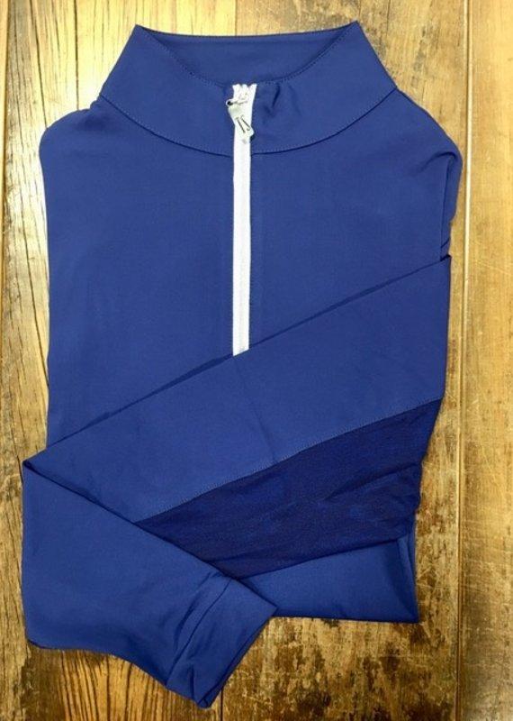 The Tailored Sportsman The Tailored Sportsman Ladies IceFil Long Sleeve So Blue/Silver
