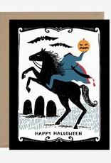 Paper Pony Happy Halloween Card