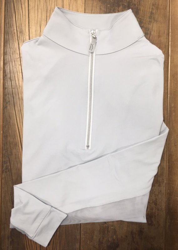 The Tailored Sportsman The Tailored Sportsman Ladies Icefil Long Sleeve Silver/Silver White