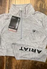 Ariat Ariat Women's Laguna 1/4 Zip Long Sleeve Heather Grey