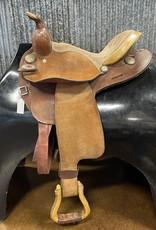 """Consignemnt Saddle #409 Western RR 14"""""""