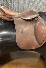 "Consignment Saddle #422 Henri Di Rivel 17"""