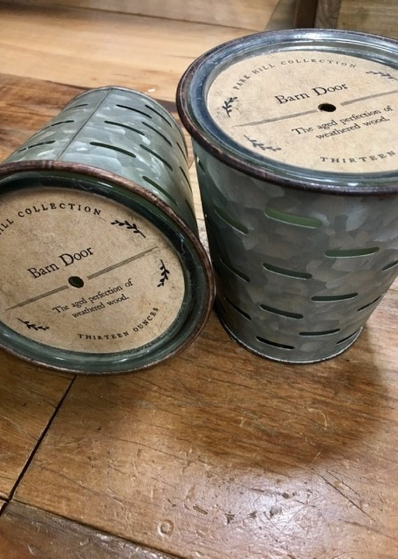 Park Hill Park Hill Barn Door Olive Bucket Candle