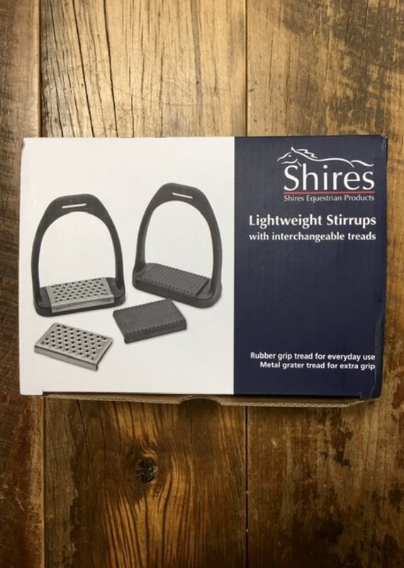 Shires Shires Lightweight Stirrups With Interchangeable Tread