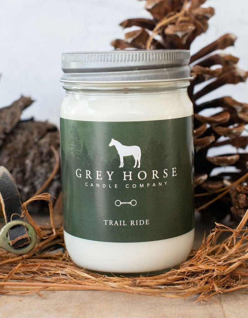 Grey Horse Candle Co Grey Horse 'Trail Ride' Candle
