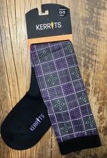 Kerrits Kerrits Dual Zone Boot Socks Blackberry Plaid