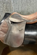 """Consignment Saddle #436 Tad Coffin 17"""""""