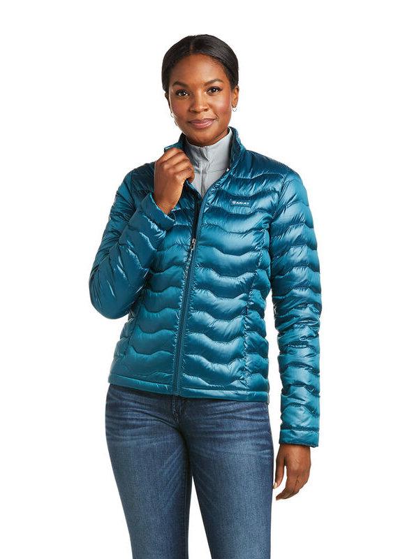 Ariat Ariat Ideal 3.0 Down Jacket Iridescent Eurasian Teal