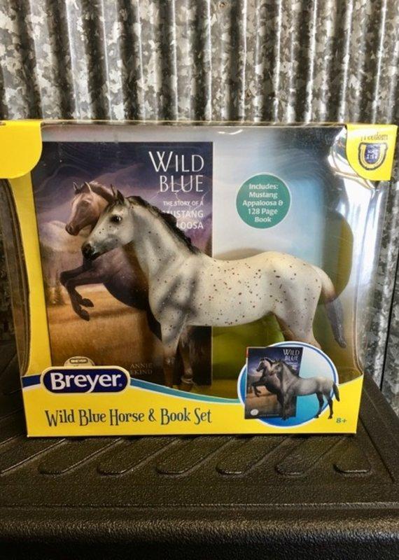 Breyer Breyer Wild Blue Horse & Book Set