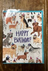 Cactus Club Paper Birthday Dogs Card