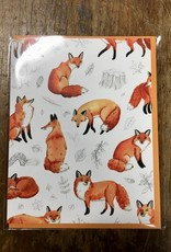 Cactus Club Paper Foxes And Foliage Card