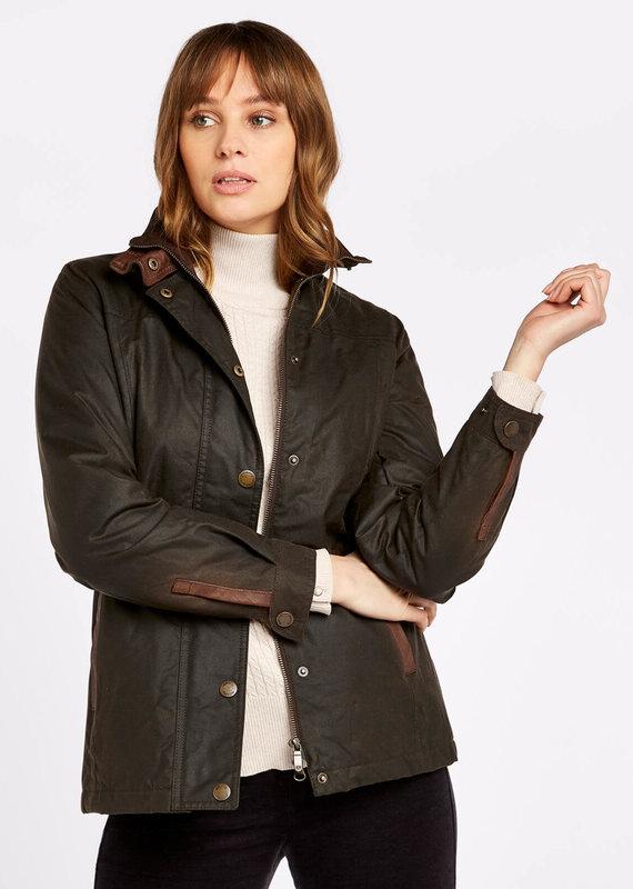 Dubarry Dubarry Women's Mountrath Olive Waxed Jacket