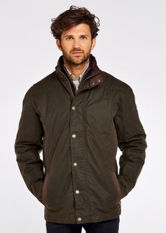 Dubarry Dubarry Men's Carrickfergus Olive Waxed Jacket