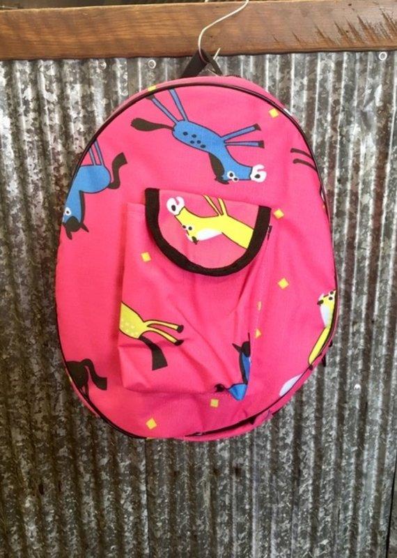 Ovation Centaur Berry Pony Print Helmet Bag