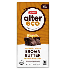 Alter Eco Alter Eco - Chocolate Bar, Dark Brown Butter