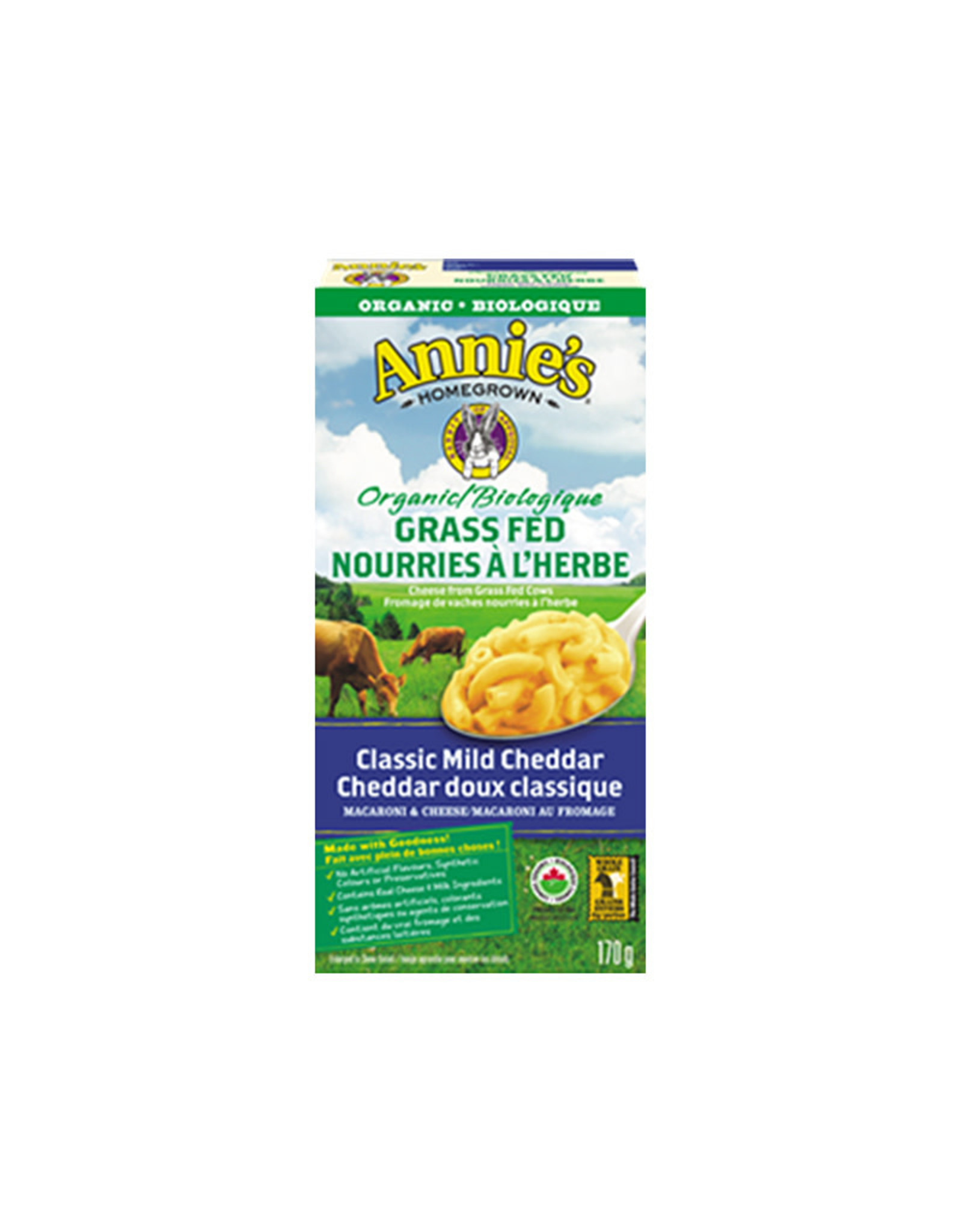 Annies Annies Homegrown - Classic Cheddar Macaroni & Cheese (170g)