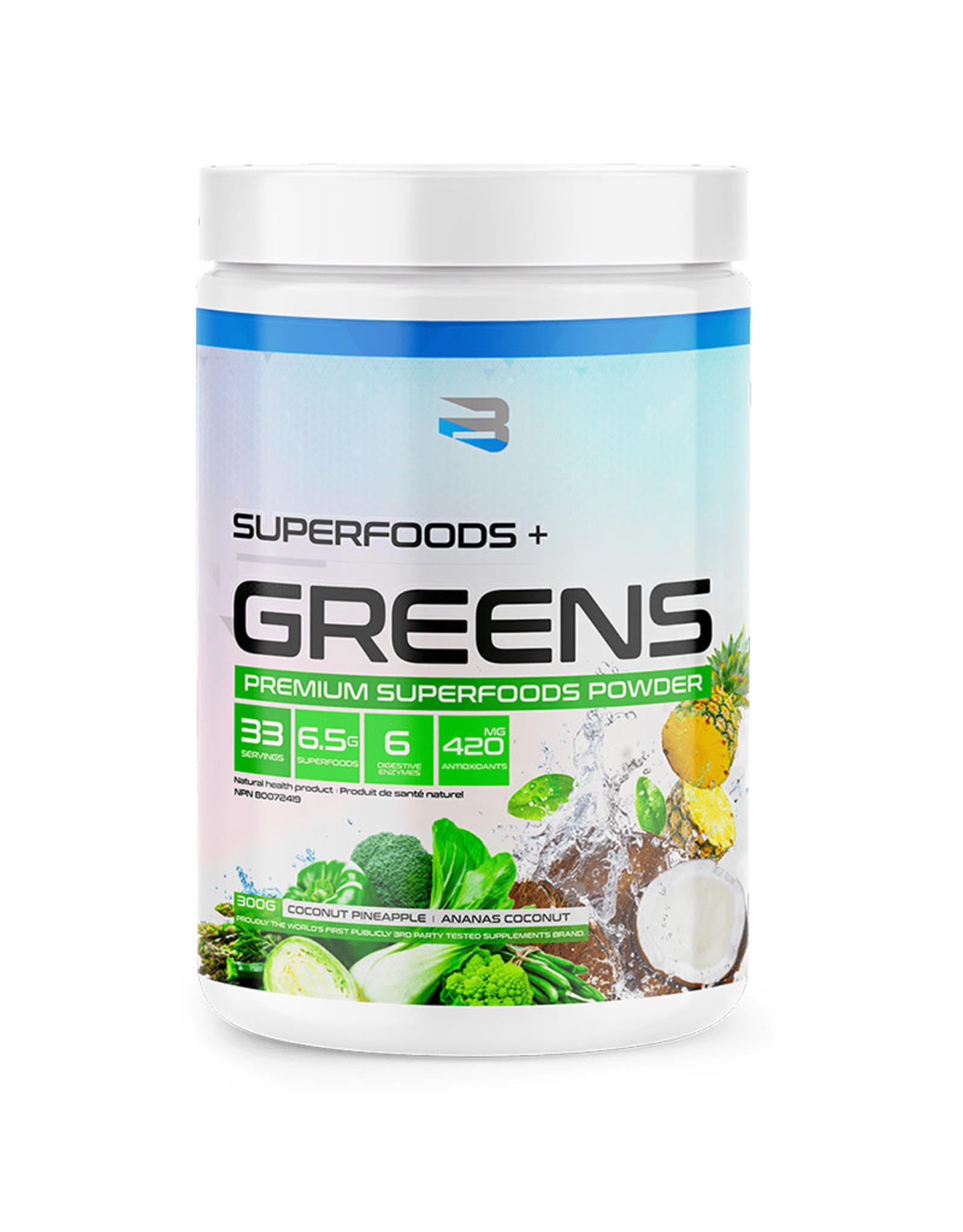 Believe Believe - Superfoods + Greens, Coconut Pineapple (300g)