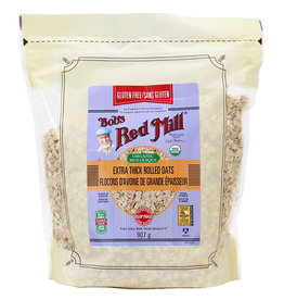 Bobs Red Mill Bobs Red Mill - GF Organic Rolled Oats, Thick (907g)