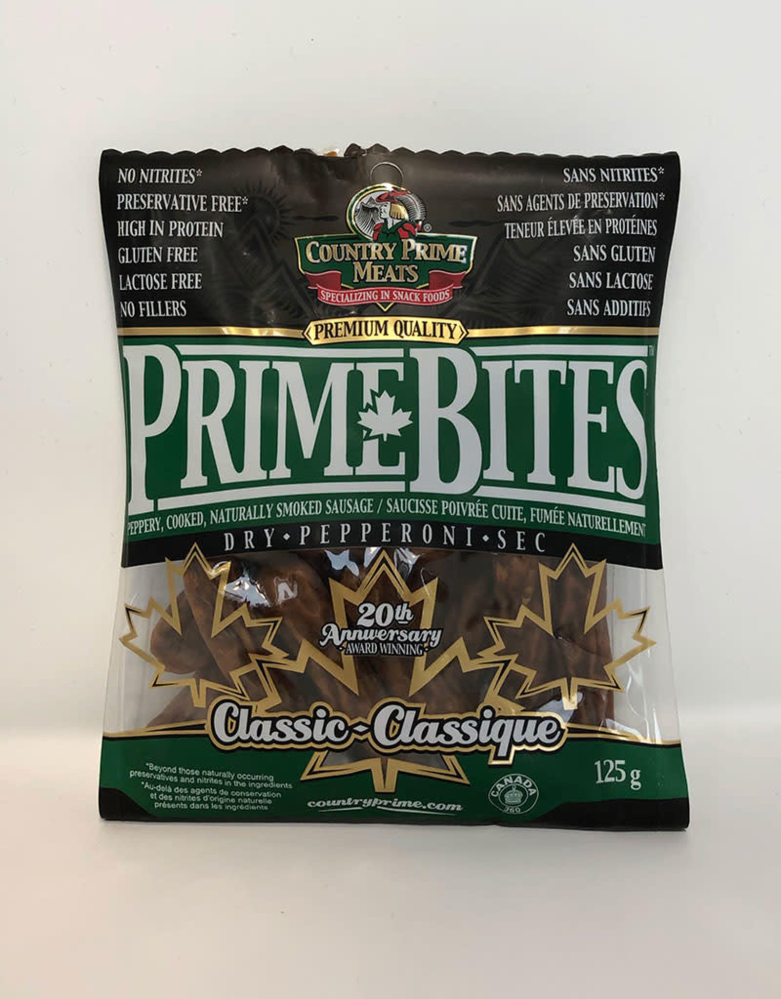 Country Prime Meats Country Prime Meats - Prime Bites, Classic (125g)