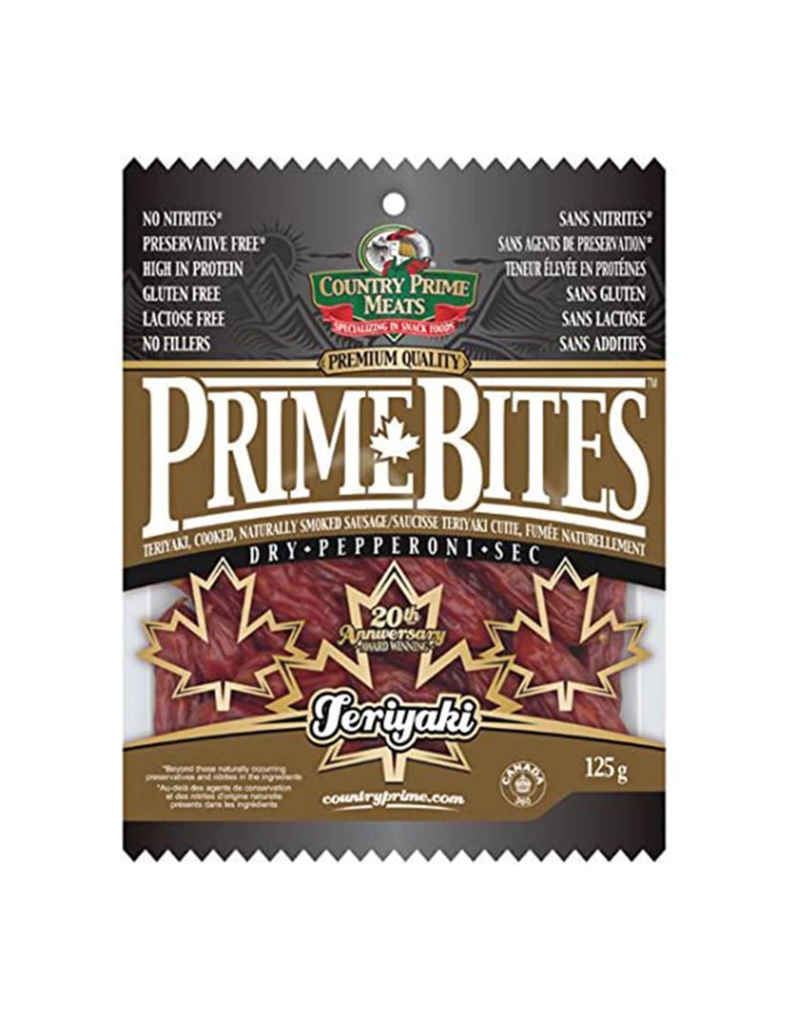 Country Prime Meats Country Prime Meats - Prime Bites, Teriyaki (125g)