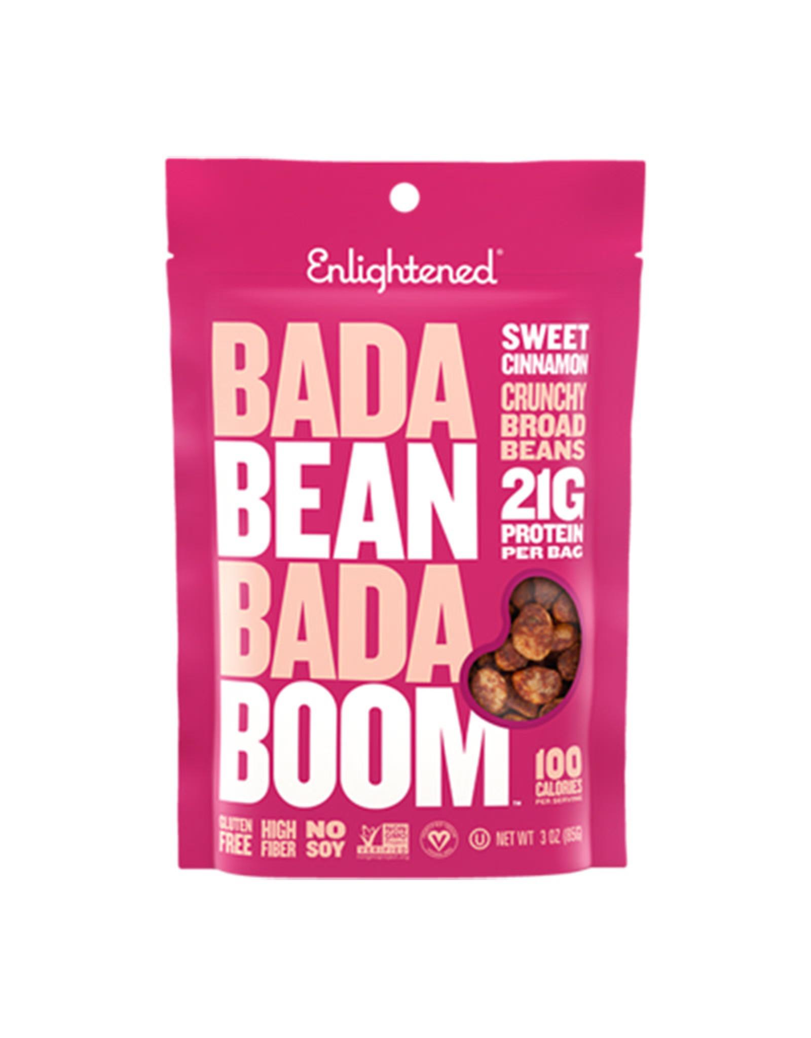 Enlightened Enlightened - Roasted Bada Bean Crisps, Sweet Cinnamon