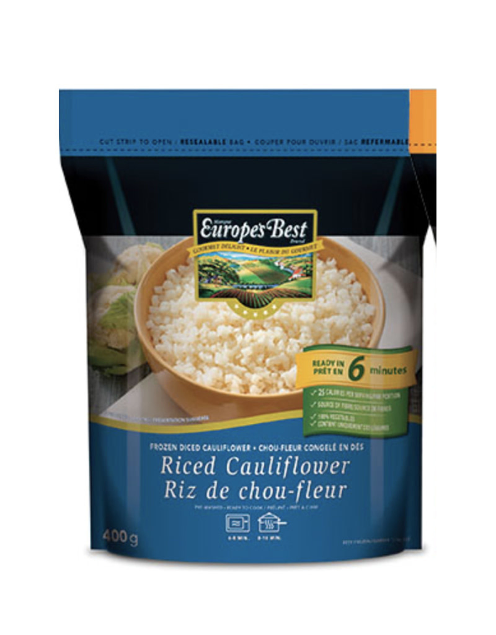 Europes Best Europes Best - Riced Cauliflower (400g)