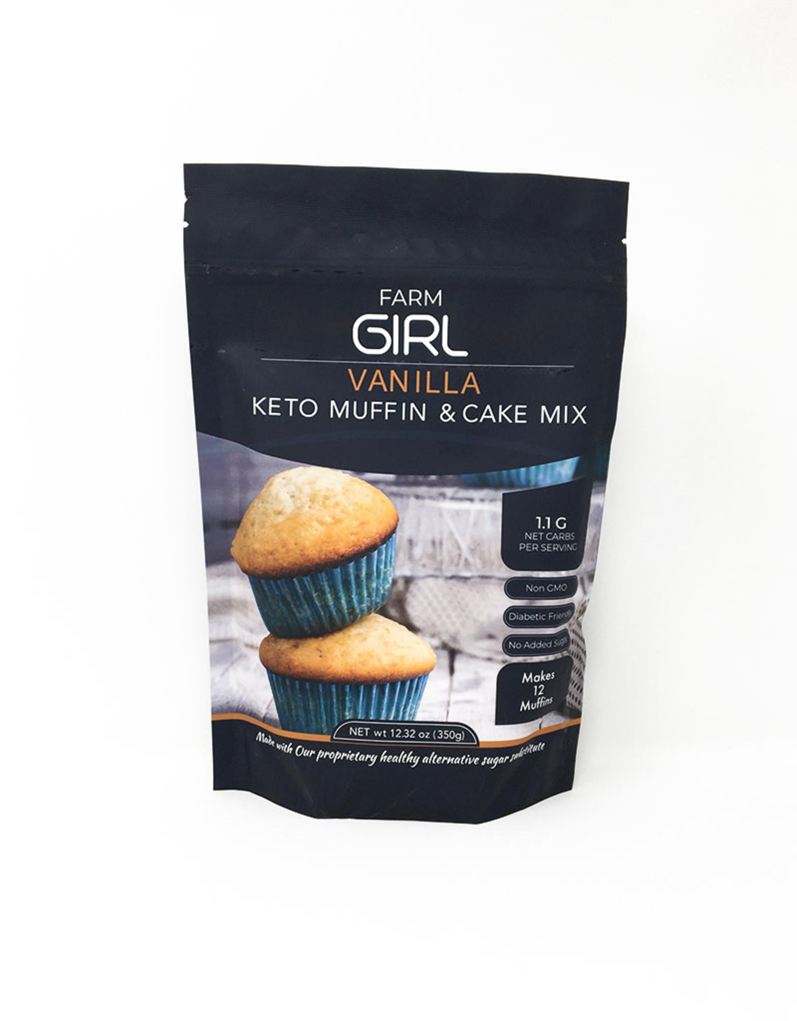 Farm Girl Farm Girl - Muffin & Cake Mix, Vanilla (350g)