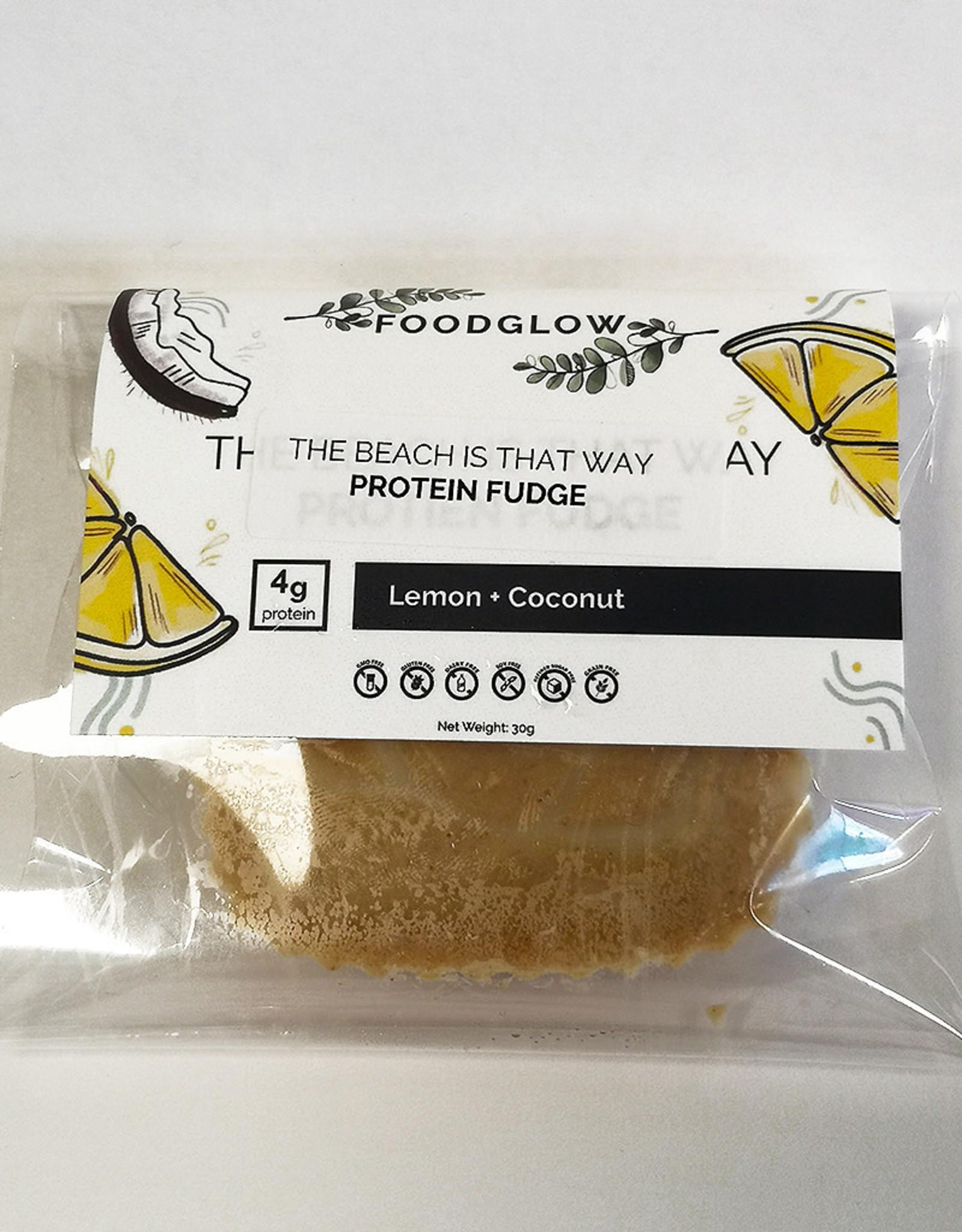 Foodglow Foodglow - Protein Fudge, Lemon Coconut