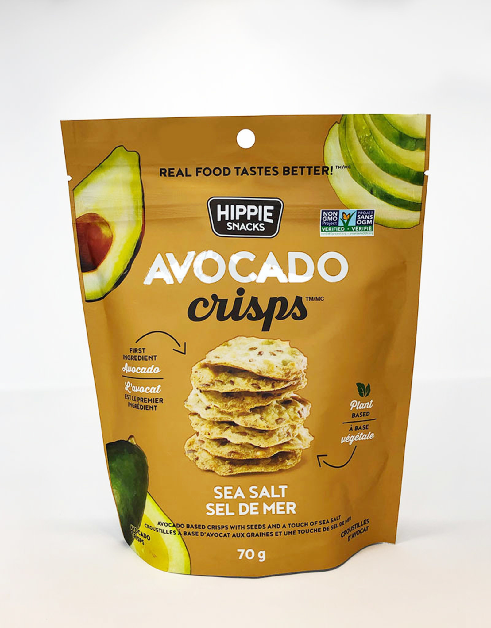 Hippie Snacks Hippie Snacks - Avocado Crisps, Sea Salt