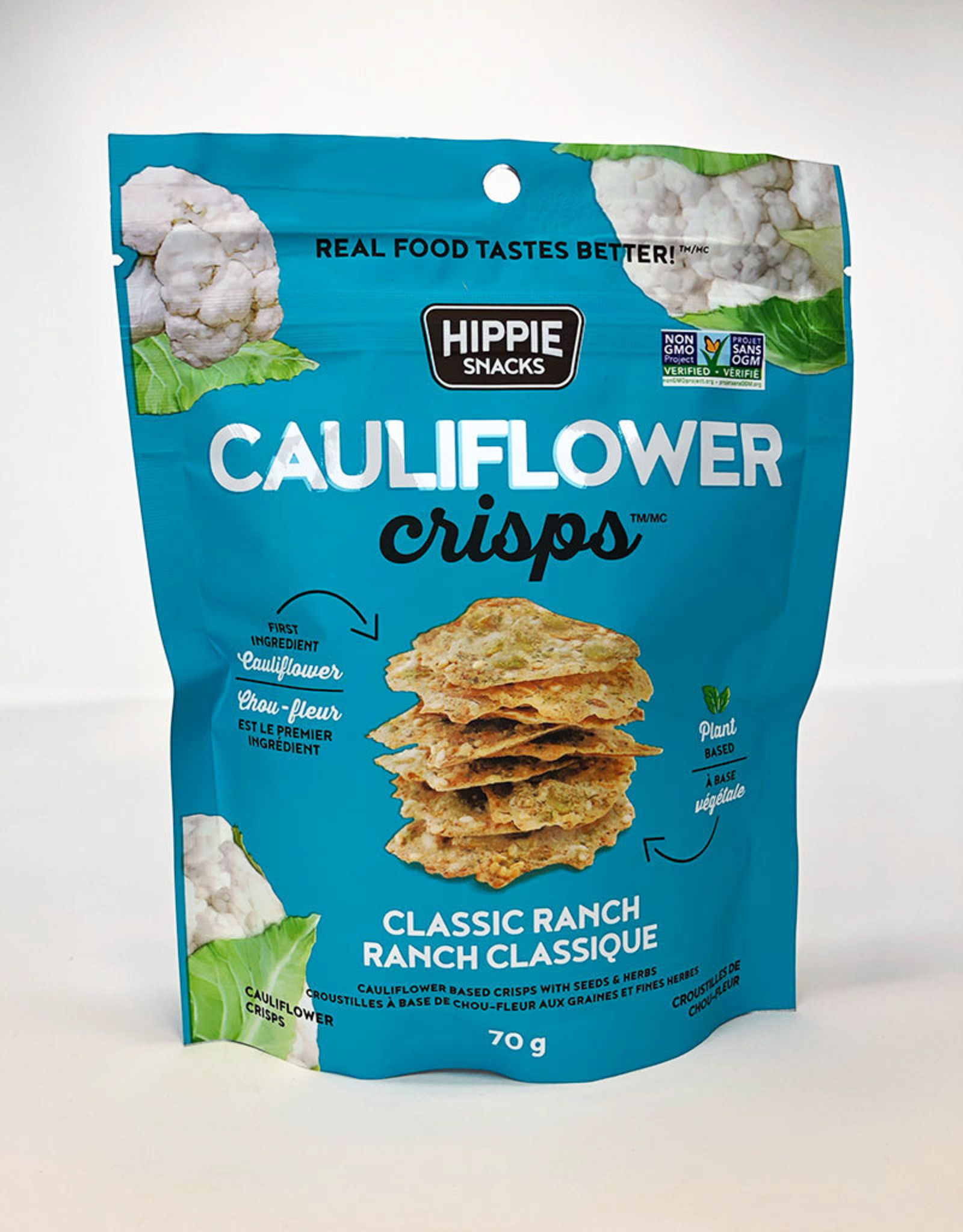 Hippie Snacks Hippie Snacks - Cauliflower Crisps, Ranch