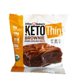 Julian Bakery Julian Bakery - KetoThin, Brownie (56g)
