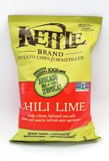 Kettle Brand Kettle Brand - Potato Chips, Avocado Oil Chili Lime (170g)