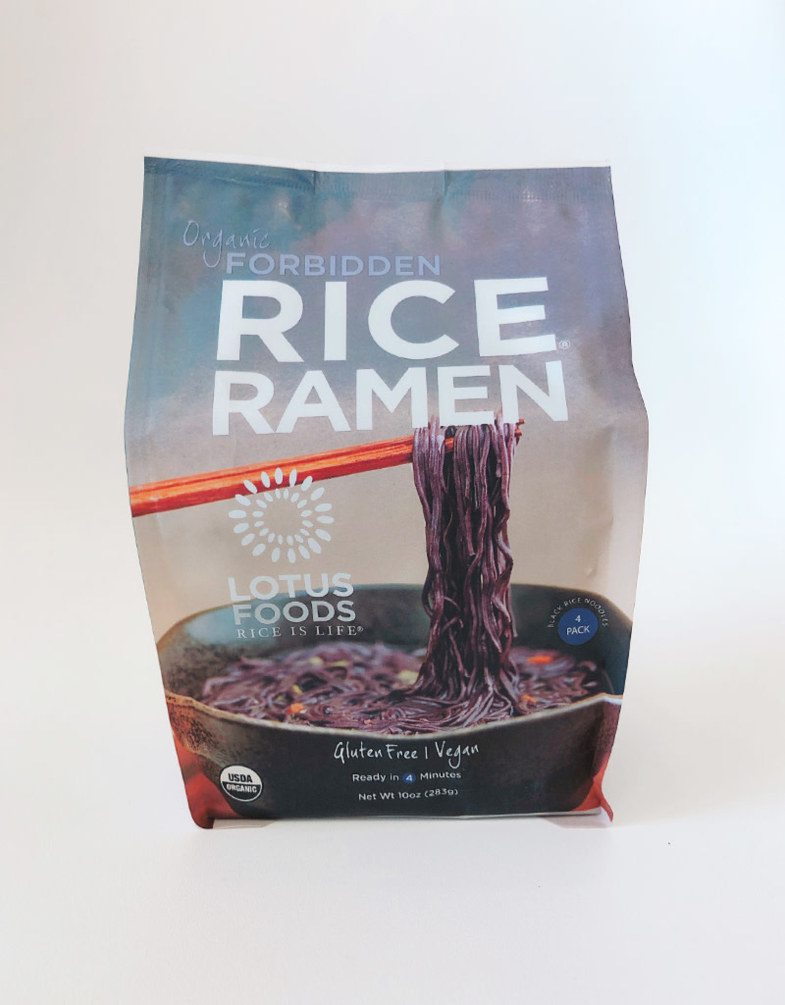 Lotus Foods Lotus Foods - Organic Rice Ramen 4 Pack, Forbidden Black Rice