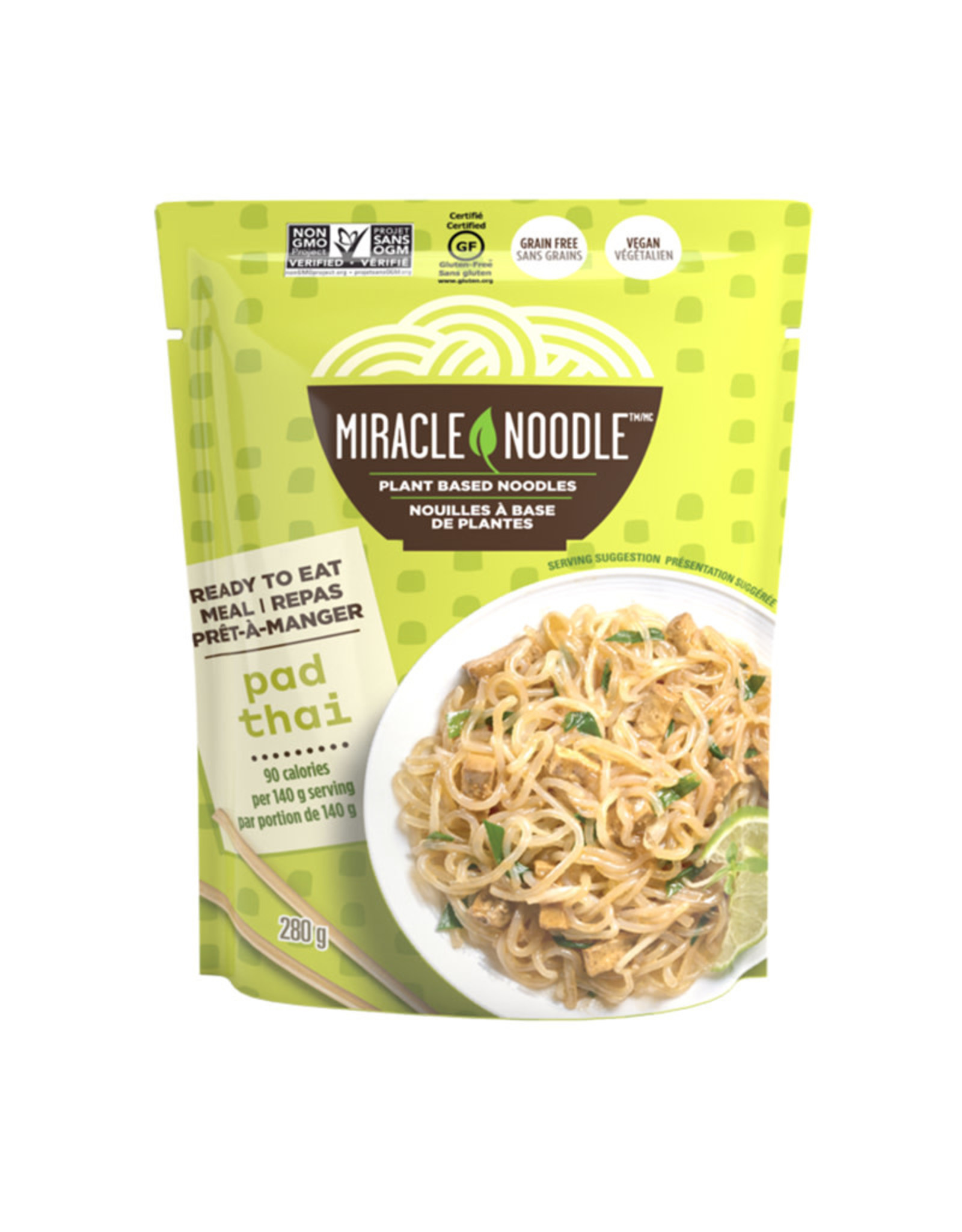 Miracle Noodle Kitchen Miracle Noodle - Ready-to-Eat, Pad Thai