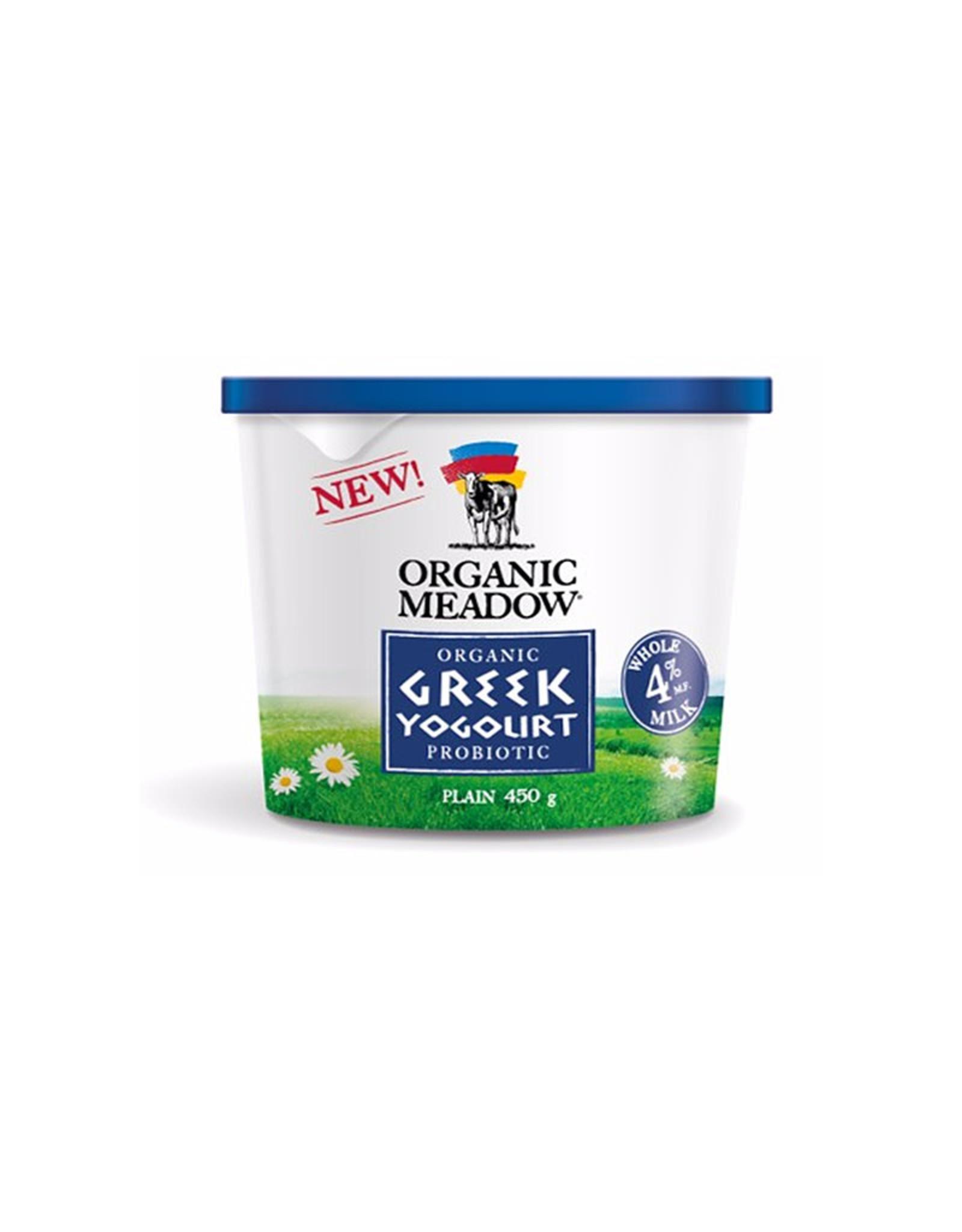 Organic Meadow Organic Meadow - 4% M.F. Grass Fed Greek Yogurt (450g)