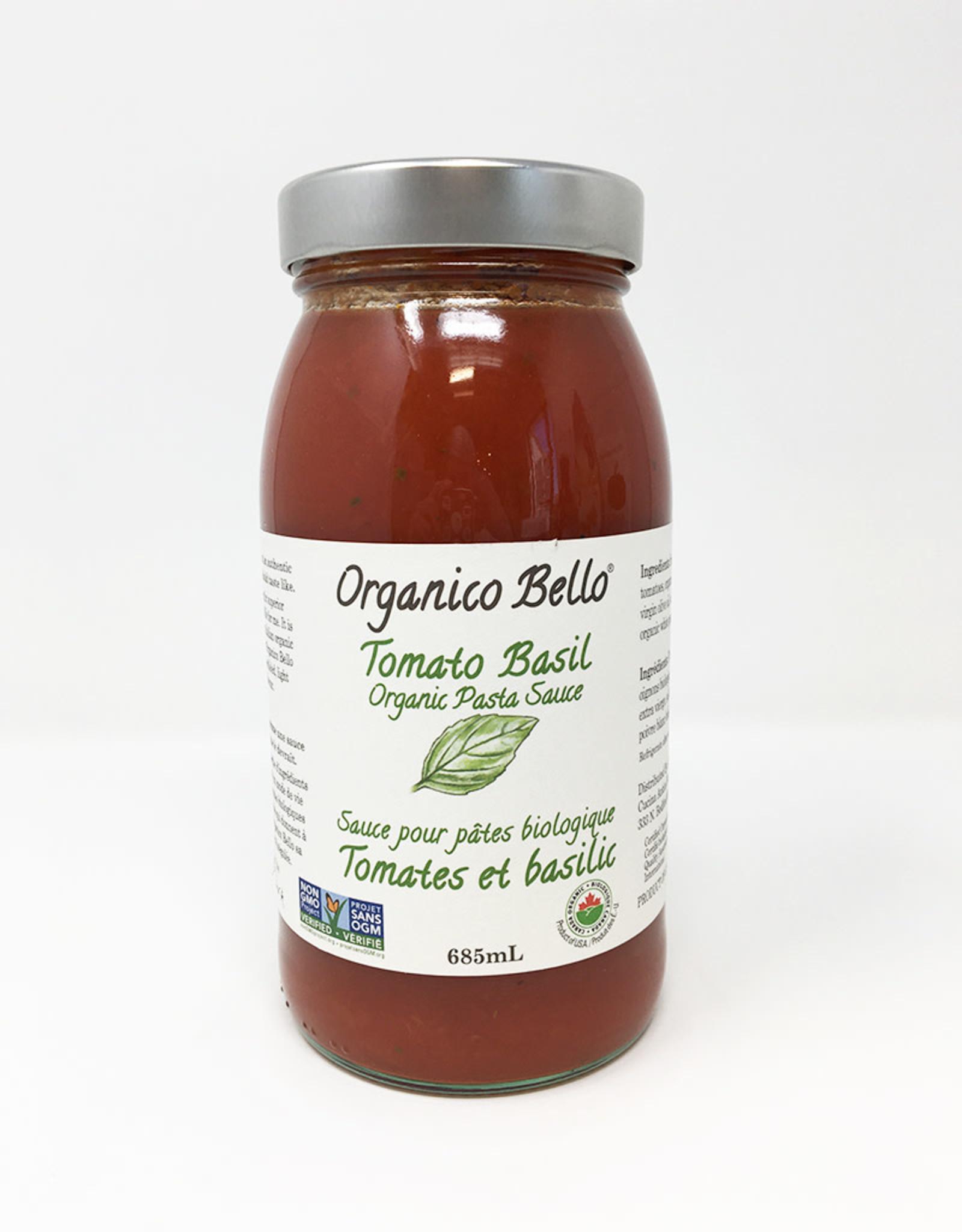 Organico Bello Organico Bello - Pasta Sauce, Tomato Basil