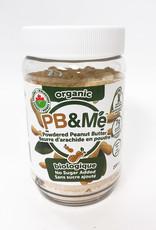 PB & Me PB & Me - Organic Powdered Peanut Butter, No Sugar Added (200g)