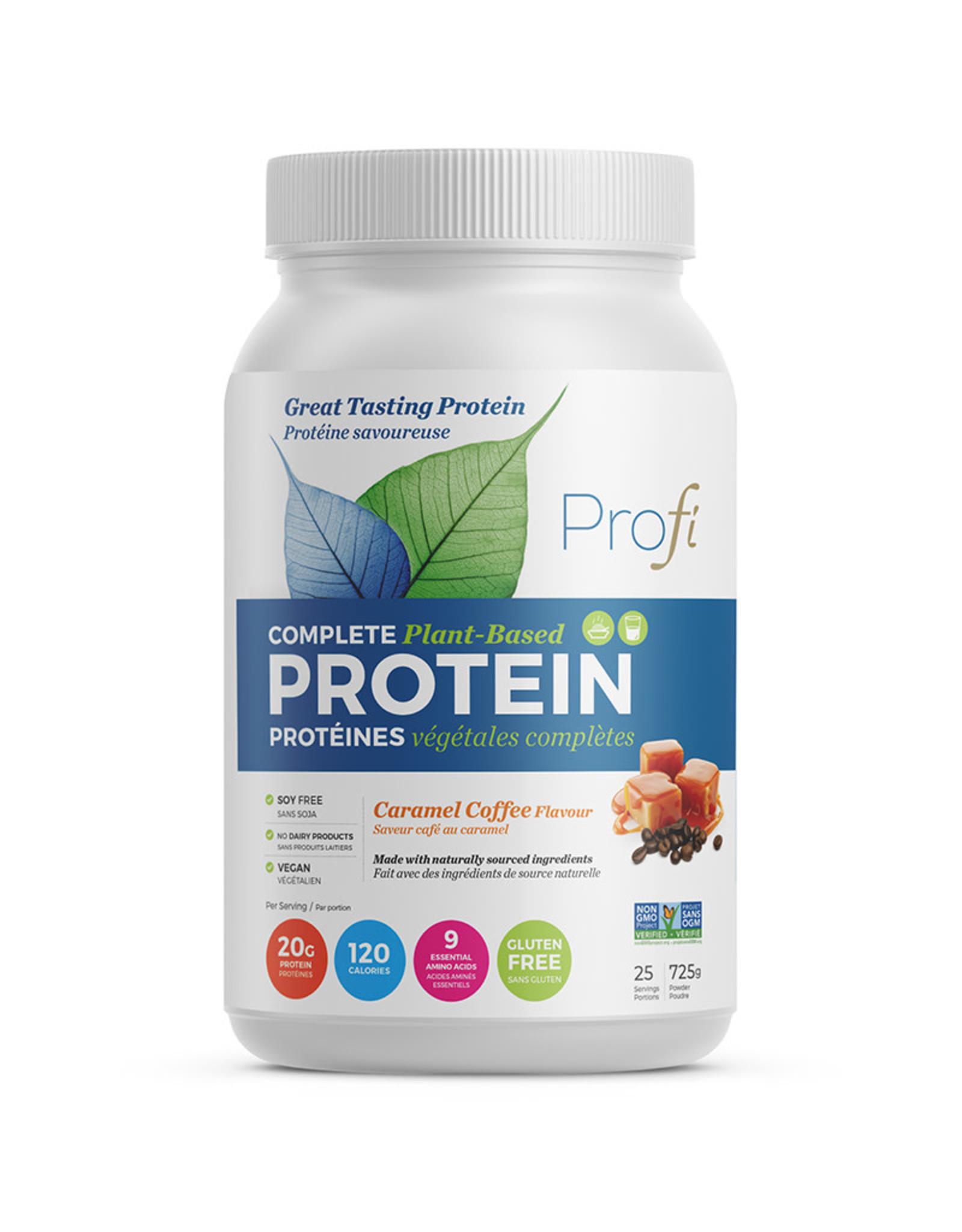 Profi Pro Inc Profi - Protein Powder, Caramel Coffee (725g)