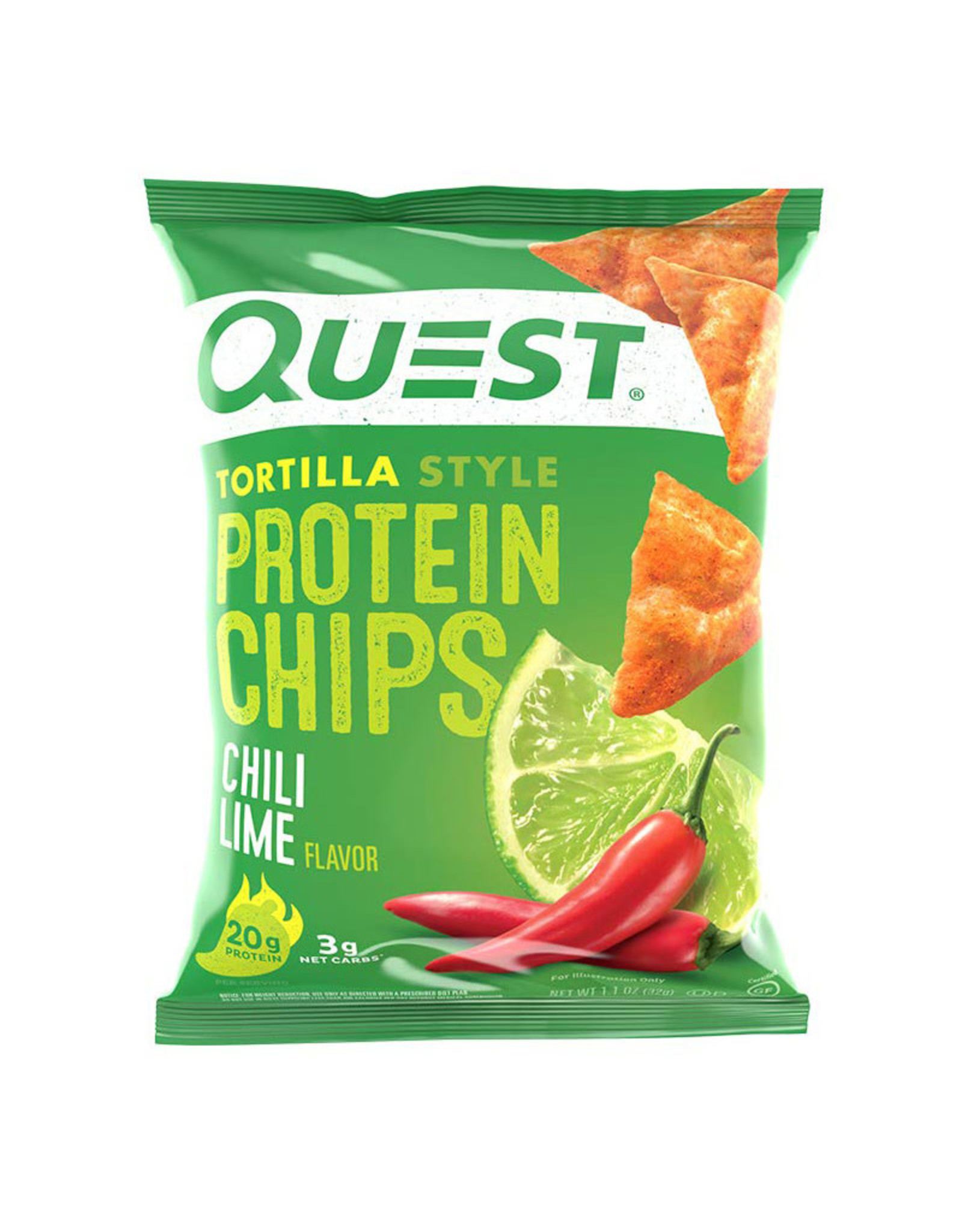 Quest Nutrition Quest - Chips, Chili Lime (32g)
