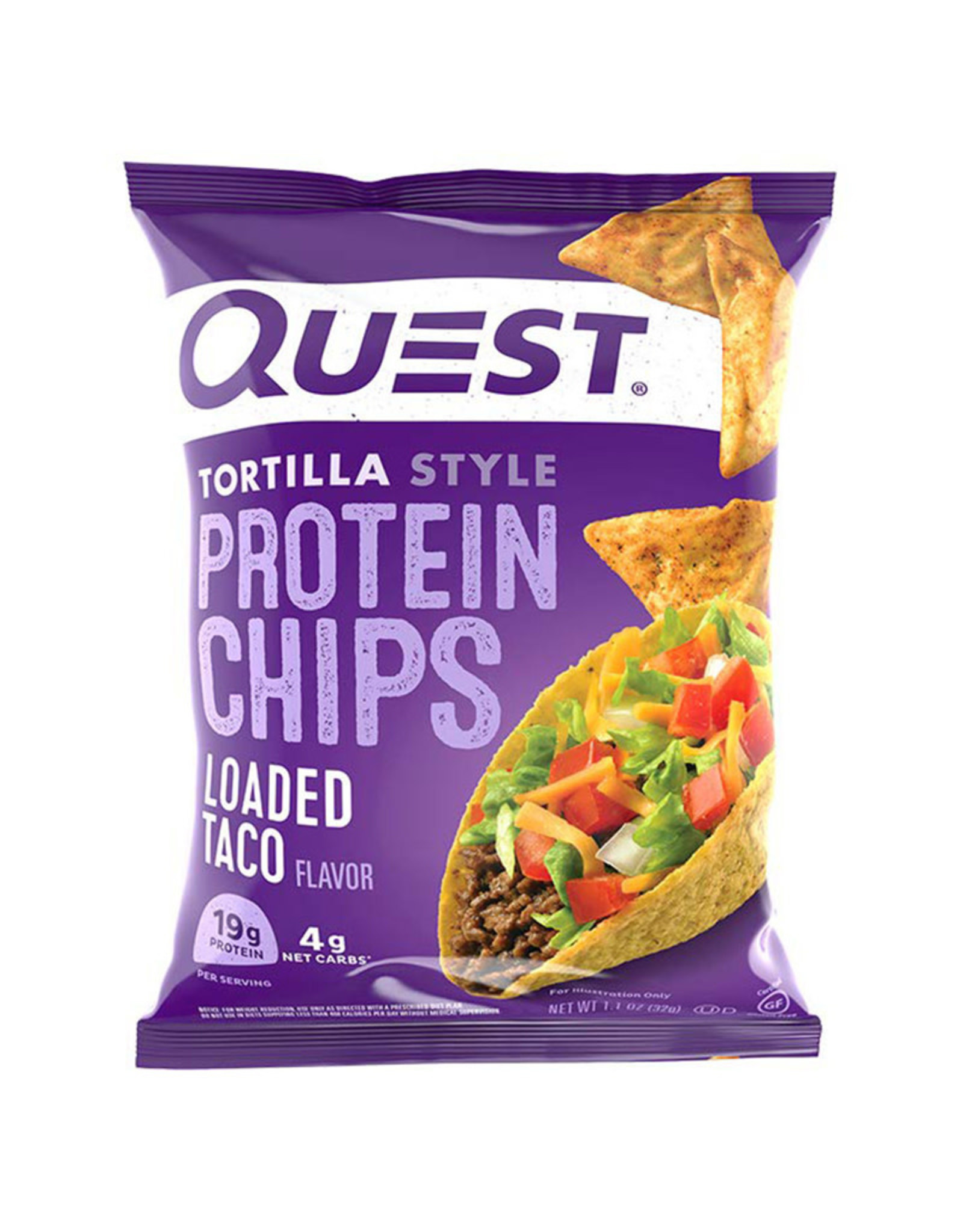Quest Nutrition Quest - Chips, Loaded Taco (32g)