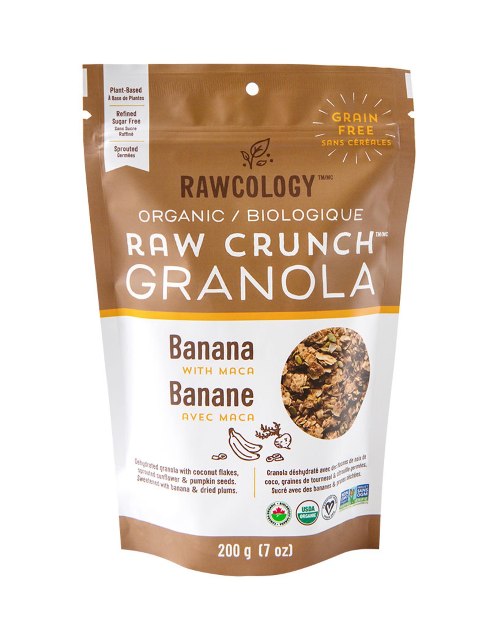 Rawcology Rawcology - Granola, Banana (200g)